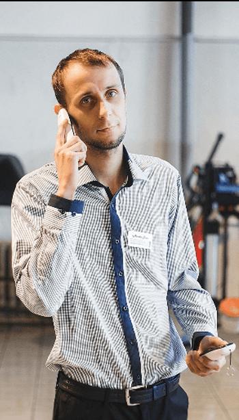 Ерошкин Антон, мастер-консультант